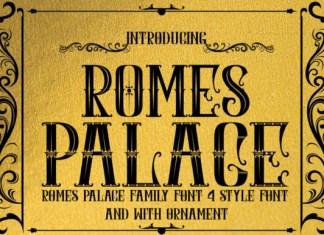 Romes Palace Font
