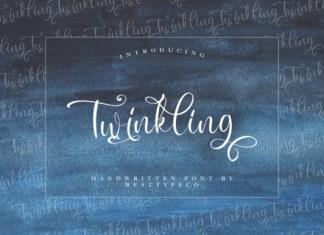 Twinkling Font