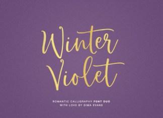 Winter Violet Font