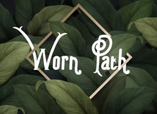 Worn Path Font