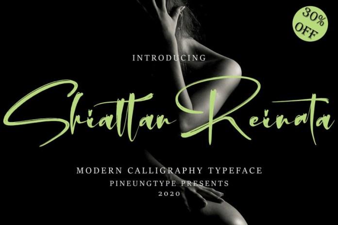 Shiattan Reinata Font
