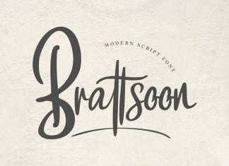 Brattsoon Font