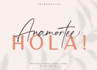 Anamortee Font