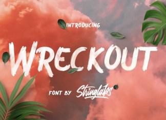 Wreckout Font