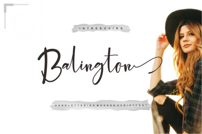 Balington Font