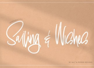 Sailing & Wishes Font