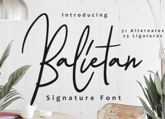 Balietan Font