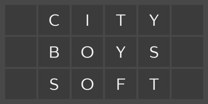 City Boys Soft Font