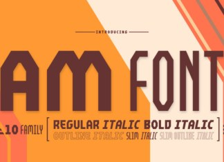 AM Font