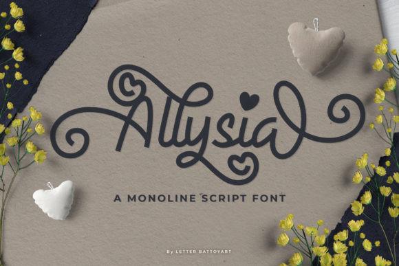 Allysia Font