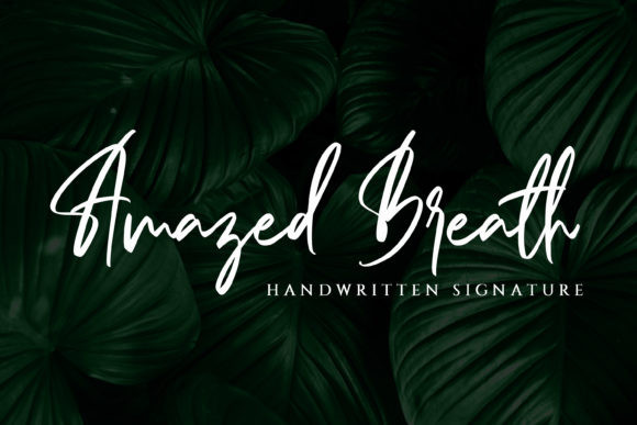 Amazed Breath Font