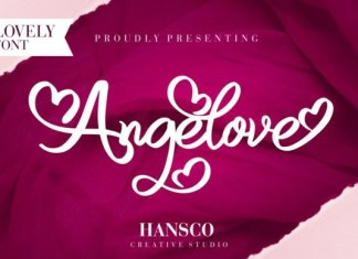 Angelove Font