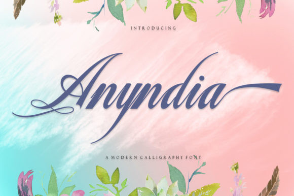 Anyndia Font