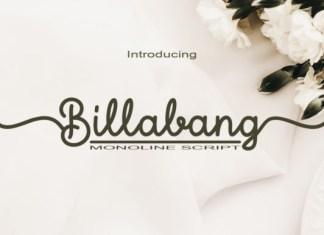 Billabang Font