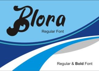 Blora Font