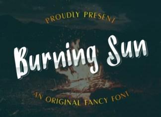 Burning Sun Font