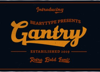 Gantry Font