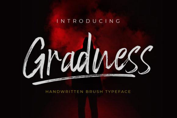 Gradness Font
