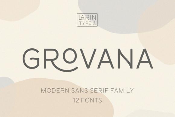 Grovana Font