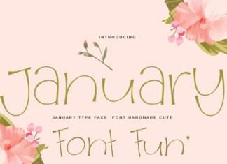 January Font