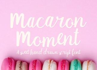 Macaron Moment Font