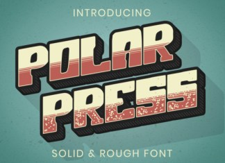 Polar Press Font
