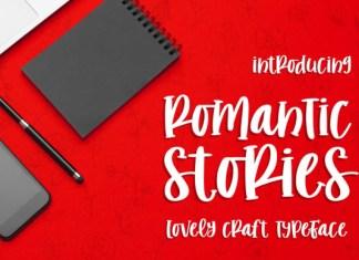 Romantic Stories Font