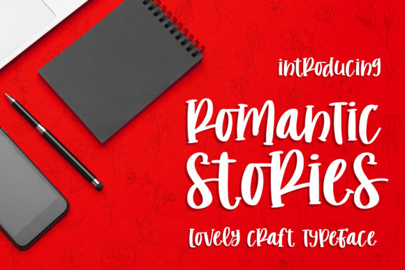 Romantic Stories Font