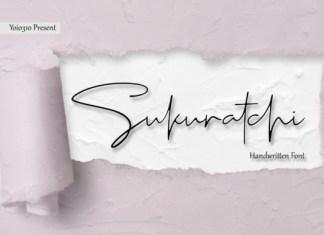 Sukuratchi Font