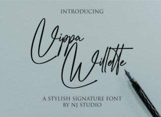 Vippa Willette Font