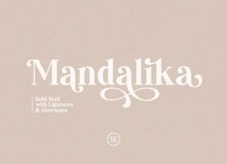 Mandalika Font