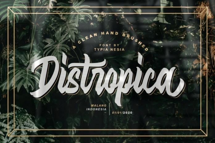 Distropica Font