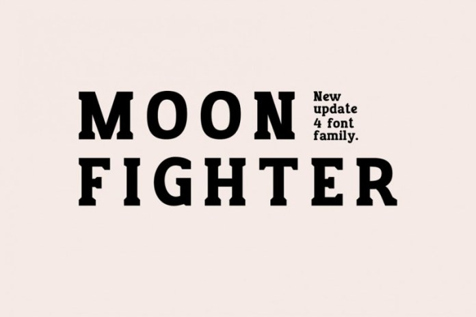 MOON FIGHTER Font