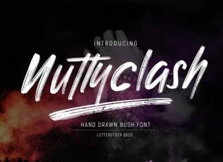 Nuttyclash Font
