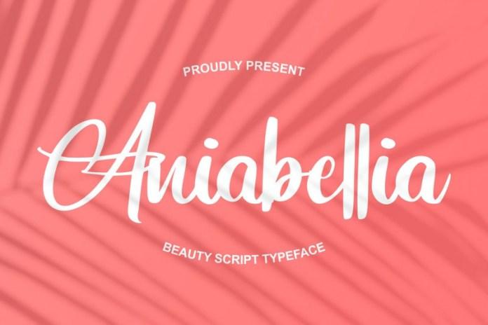 Aniabellia Font