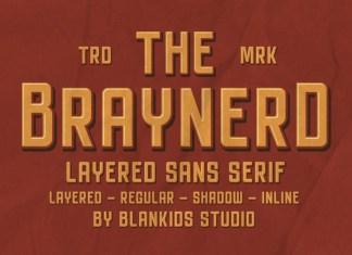 Braynerd Font