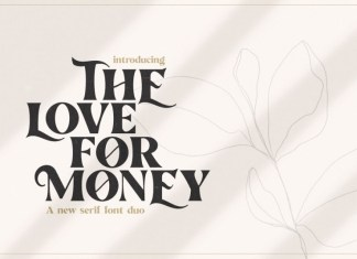 The Love For Money Font