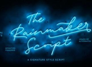 Rainmaker Font