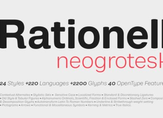 Rationell Font