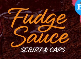 Fudge Sauce Font
