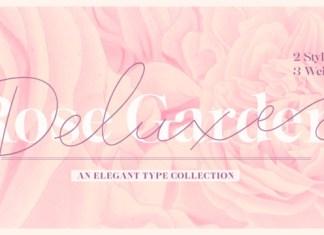 Rose Garden Deluxe Font