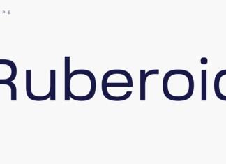 Ruberoid Font
