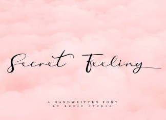 Secret Feeling Font
