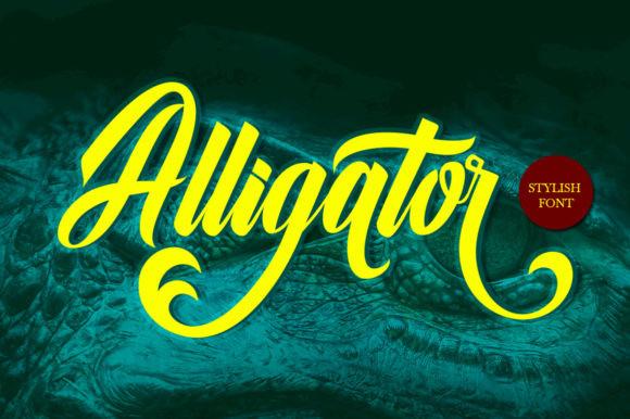Alligator Font