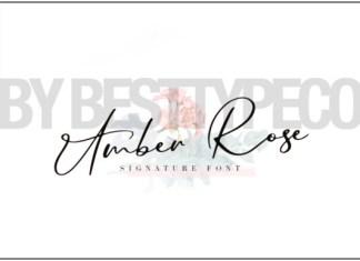 Amber Rose Font