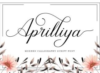 Aprilliya Font