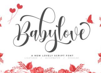 Babylove Font