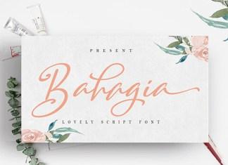 Bahagia Font