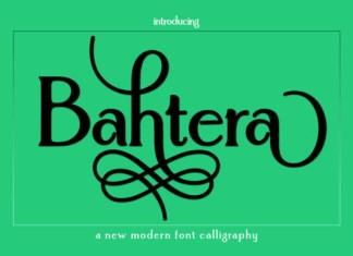 Bahtera Font