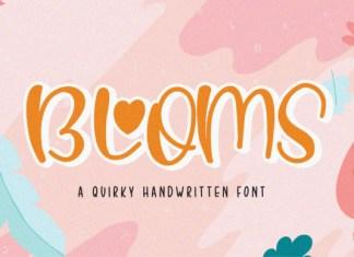 Blooms Font